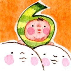 O-SHI-RI NINNGENN LIFE6 with baby