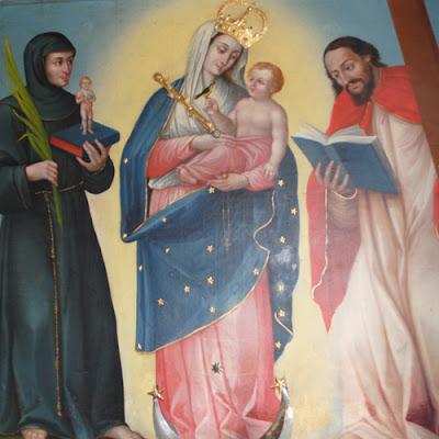 Imagen de Nuestra Señora del Rosario de Chiquinquira de Lobatera
