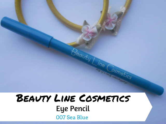 Beauty Line Cosmetics Eye Pencil-007 Sea Blue