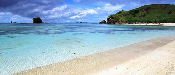 pantai kuta terindah di dunia lombok tengah