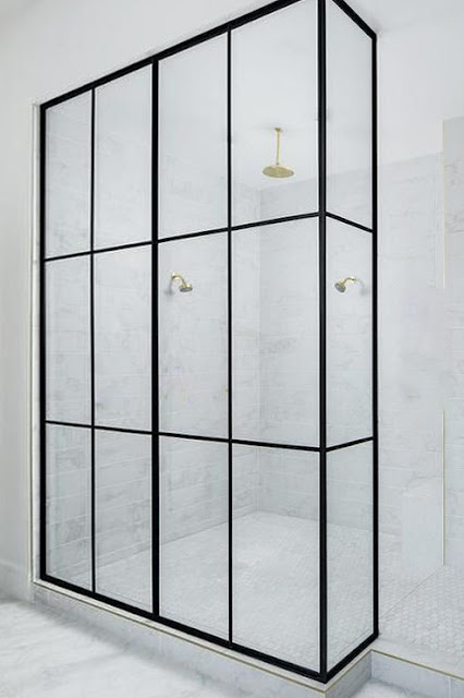 Advantages of shower partitions