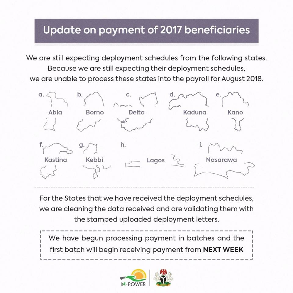Npower March Stipend 2019 / Payment Update