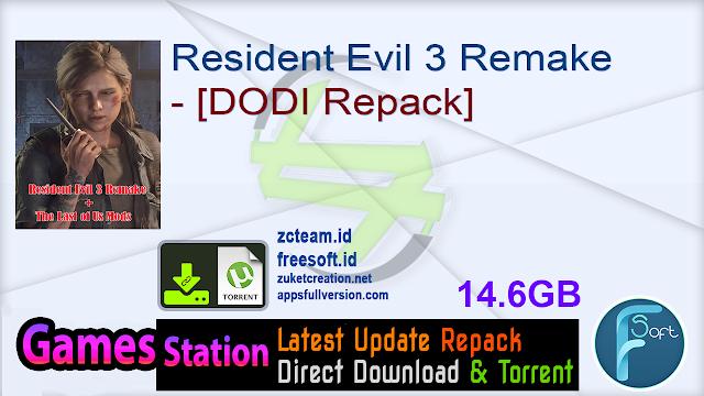 Resident Evil 3 Remake – [DODI Repack]