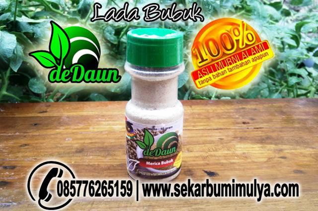 Jual Bumbu Dapur deDAUN : Lada Kering Bubuk/Pepper Powder