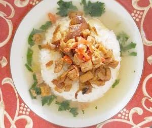 Resep Masakan Nasi bakmoi Tongcai enak