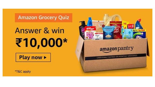 Amazon-Grocery-Quiz-Answers-Win-Rs.10,000