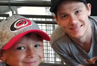Jeff Skinner With Year Old Fan Reporter