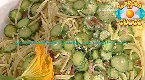 Spaghetti alla carbonara vegetale ricetta Messeri da Prova del Cuoco