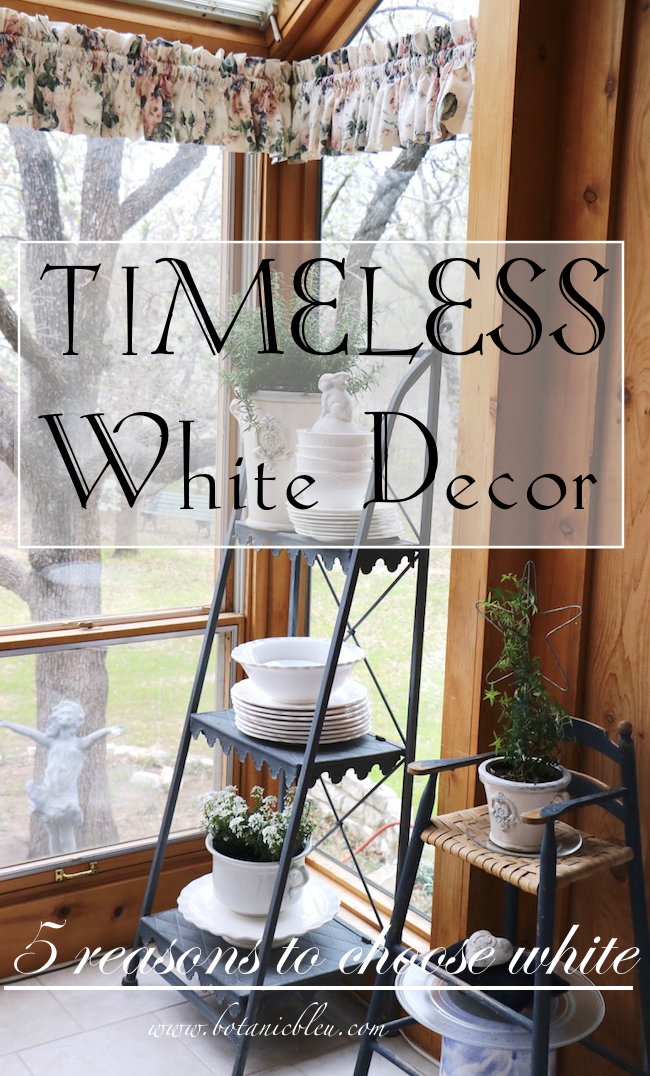 Timeless White Decor Five Reasons