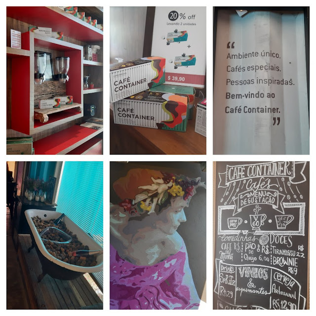 10 cafeterias e/ou docerias em Campinas - Café Container