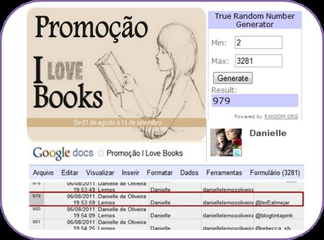 Resultado : Promocao I Love Books 6
