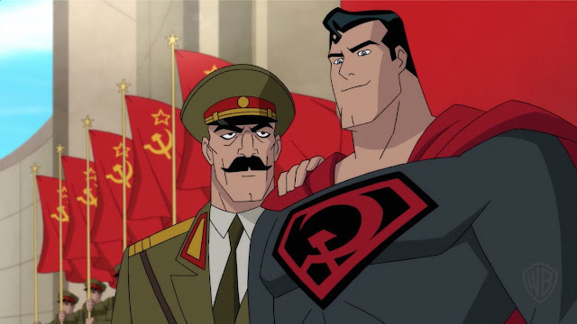 Superman Red Son entre a Foice e o Martelo