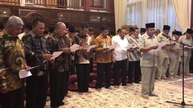 Fadli Zon: 60 Jenderal Purnawirawan TNI Dukung Prabowo Subianto sebagai Presiden 2019