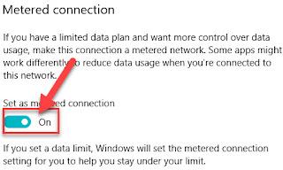 شرح طريقة تقليل استهلاك الانترنت علي ويندوز 10