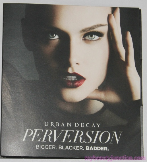 Urban Decay Perversion Mascara review, before and after photos