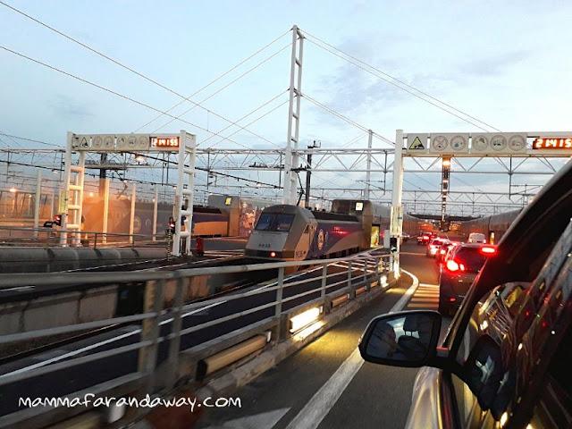 come funziona eurotunnel in macchina