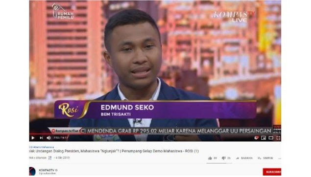 Disebut 'Ngelunjak' karena Tolak Bertemu Jokowi, BEM Trisakti: Membiarkan Kesalahan adalah Kejahatan