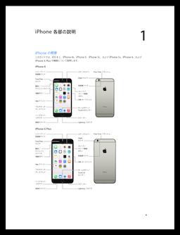 iOS 8版「iPhone ユーザガイド」、PDF、Web、iBook版が揃いました!でも、日本語バージョンはPDF