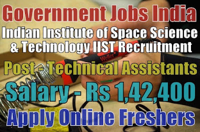 IIST Recruitment 2019