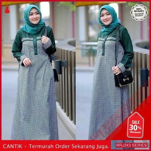 Jual RRJ243D132 Dress Sabrina Square Wanita Sk Terbaru Trendy BMGShop