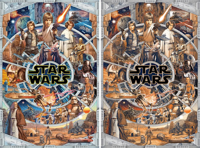 "Star Wars ""An Epic Saga"" Screen Print by Ise Ananphada x Bottleneck Gallery"