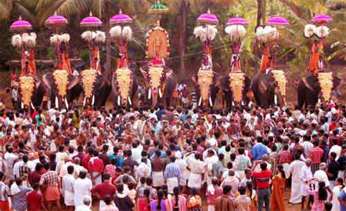 Parakkat Sree Bhagavathy Temple Festival – Parakkat Pooram