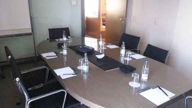 Sala de reunião no Hotel Intercontinental São Paulo