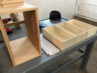Drawers ready to be installed