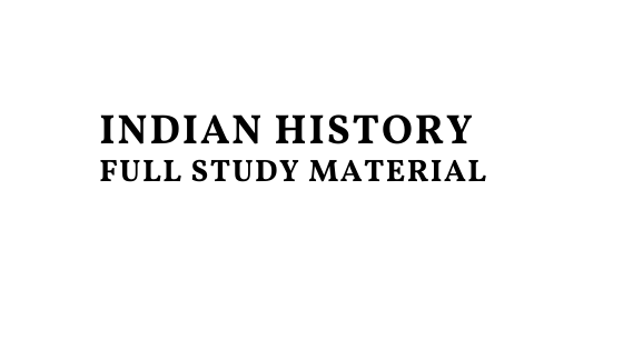 Indian History Full Study Material Pdf Download