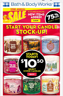 Bath & Body Works | Today's Email - January 10, 2020