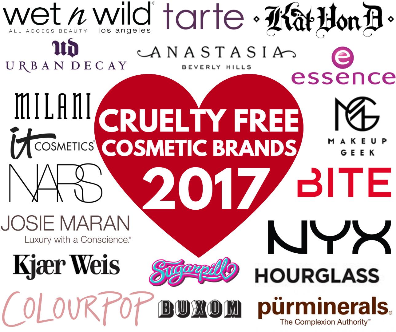 List of cruelty free makeup