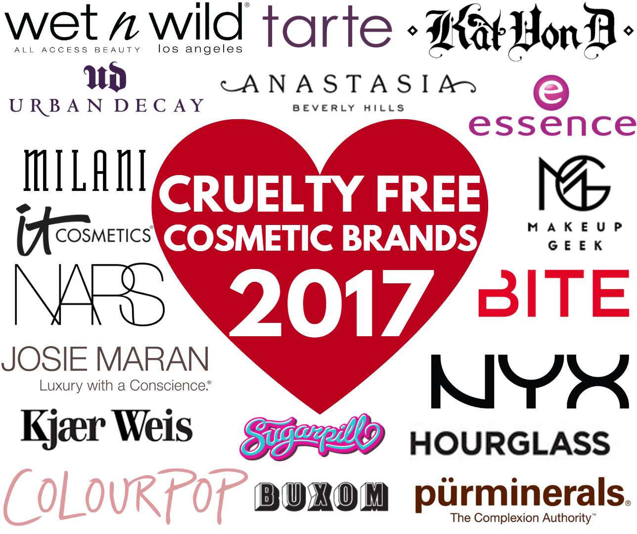 Luxury cosmetics brands list