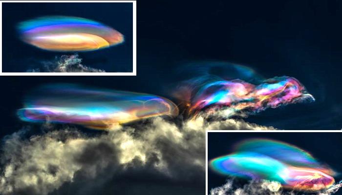 Espectacular fenómeno en el cielo captado en Perú