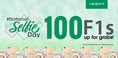 OPPO Announced December 5 As National Selfie Day; 100 F1s Up For Grabs