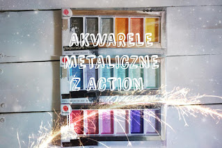 Metaliczne akwarele z Action