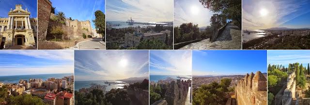 Things to do in Malaga in December: Gibralfaro Palace in Málaga, Spain