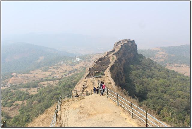 Lohagad fort, lohagad top view