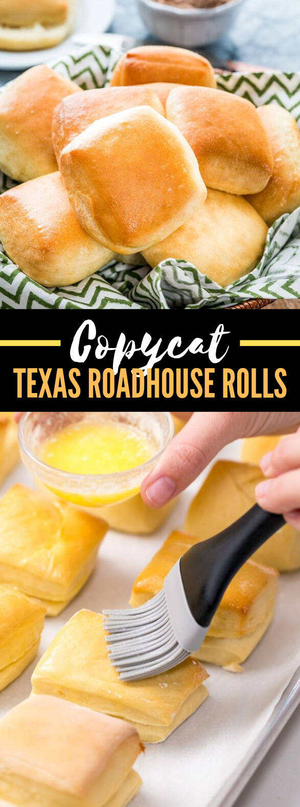 A COPYCAT RECIPE – TEXAS ROADHOUSE ROLLS #dinner #appetizers