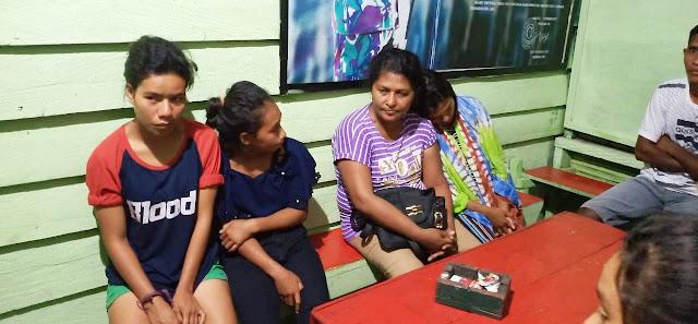 Satgas Yonif 734 Berhasil Cegah Human Trafficking di Morotai Utara