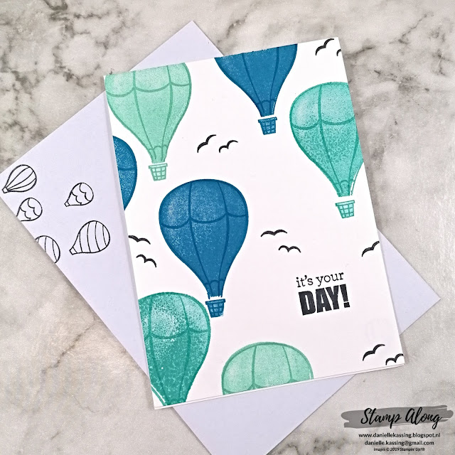 Stampin' Up! Above the Clouds