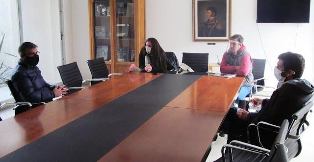 Viera recibió al titular de Asistencia Social Directa del Ministerio de Desarrolo