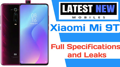Xiaomi Mi 9T full specifications
