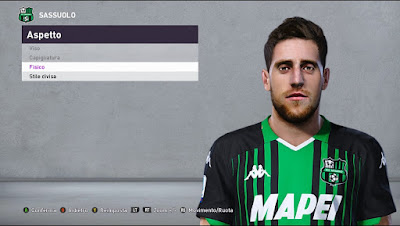 PES 2020 Faces Giorgos Kyriakopoulos by Andò12345