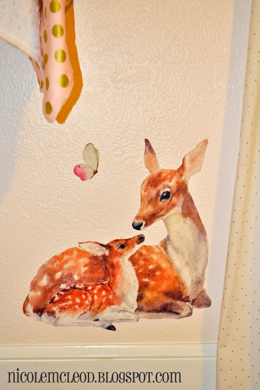 Finding Beauty in Life: Blush Pink and Gold Baby Deer ...