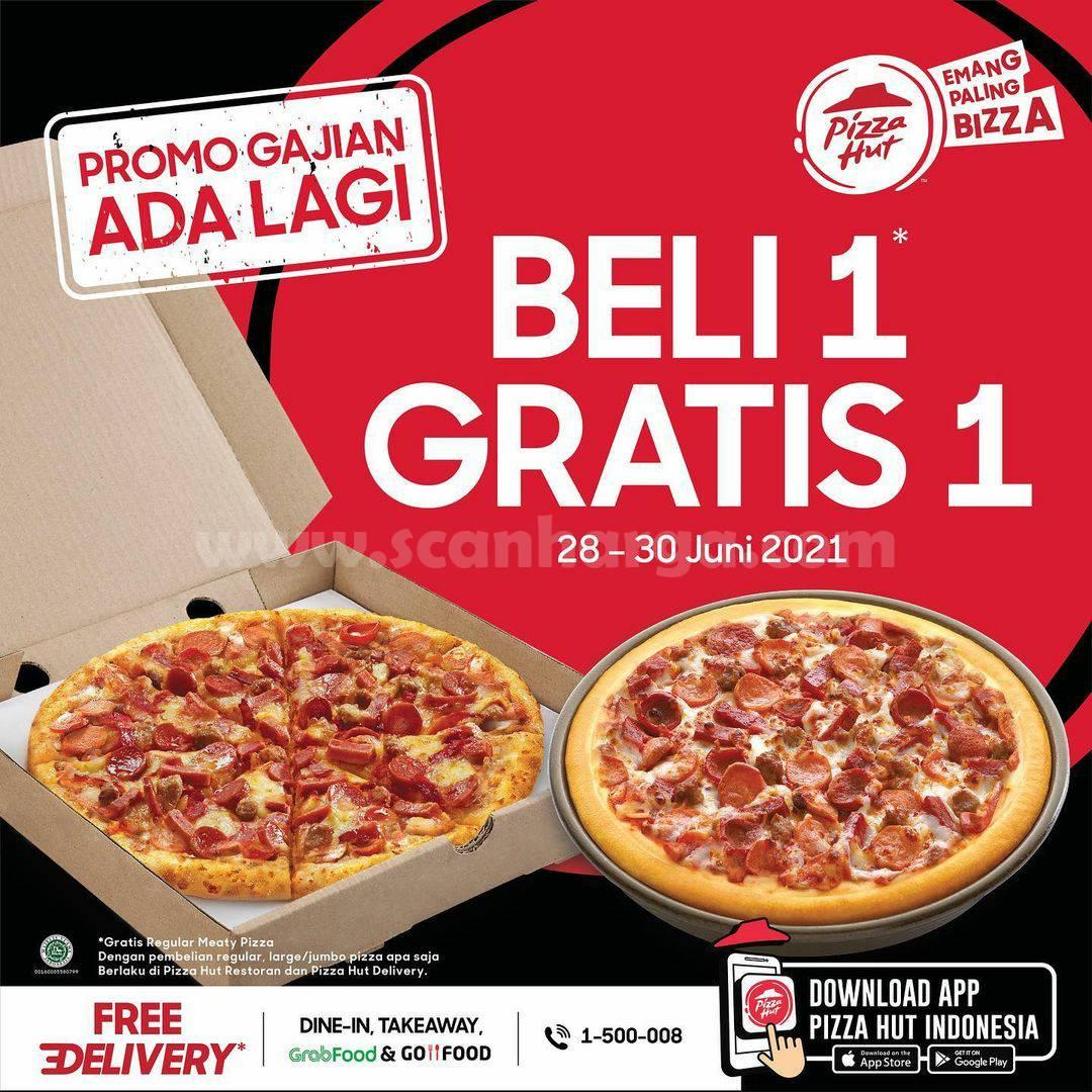 PIZZA HUT Promo GAJIAN - Beli 1 Gratis 1