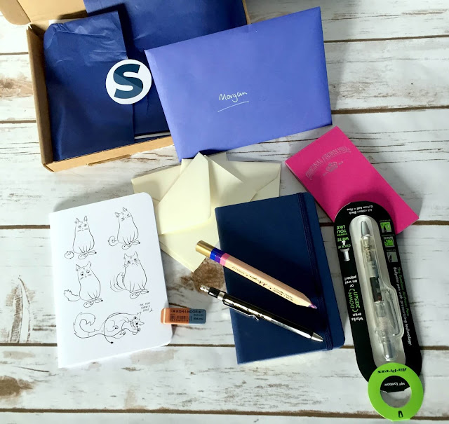 spotlight stationery subscription box contents