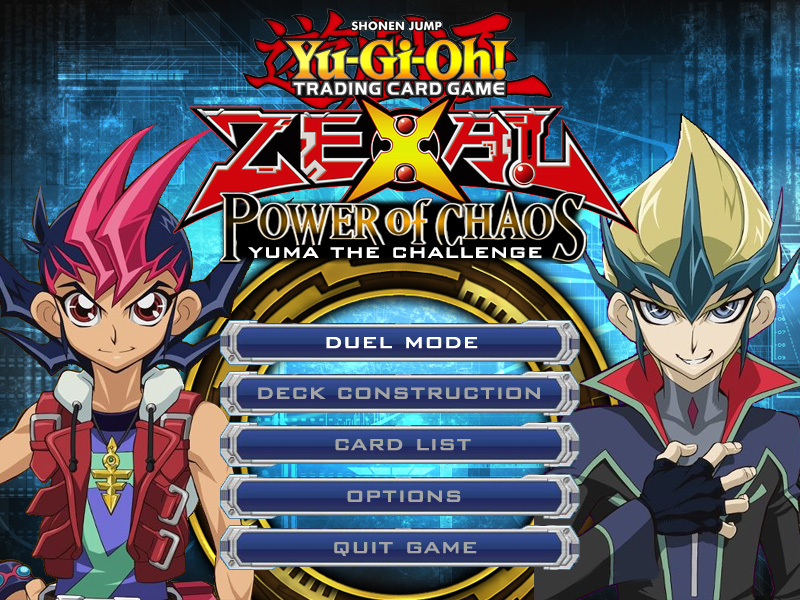 yugioh zexal power of chaos