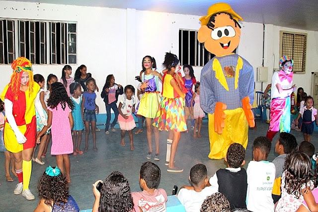 II Festival da Criança é realizado pela Prefeitura de São Desidério em Roda Velha