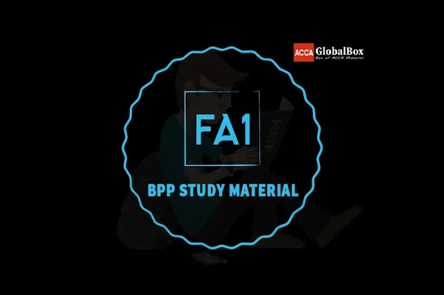 FA1 - Recording Financial Transactions | BPP | STUDY TEXT and EXAM KIT
