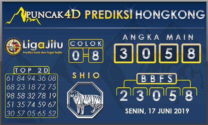 PREDIKSI TOGEL HONGKONG PUNCAK4D 17 JUNI 2019